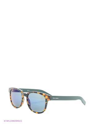 Солнцезащитные очки HUGO BOSS. Цвет: серый, рыжий