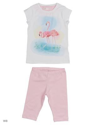 Пижама Ritta Romani. Цвет: белый, розовый
