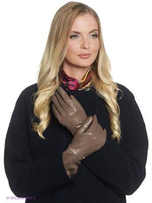 Перчатки Fabretti. Цвет: хаки