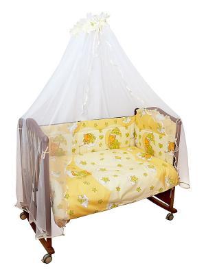 Борт Мишкин сон Сонный гномик. Цвет: желтый