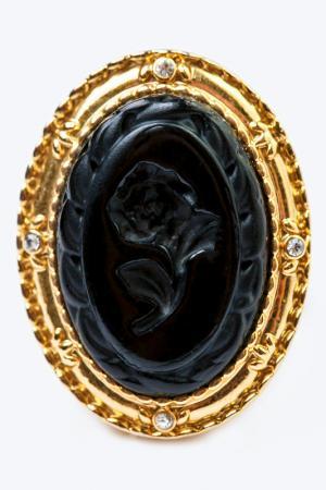 Кольцо FRANSUA ARDY. Цвет: черный