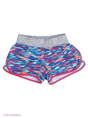 Шорты TEMPO RIVAL AOP SHORT YTH Nike. Цвет: голубой, красный, синий