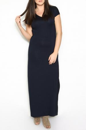 Платье ZEDD. Цвет: синий