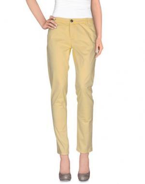 Повседневные брюки NINE:INTHE:MORNING. Цвет: желтый