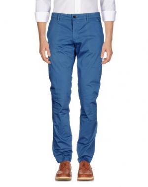 Повседневные брюки HEAVEN TWO. Цвет: пастельно-синий