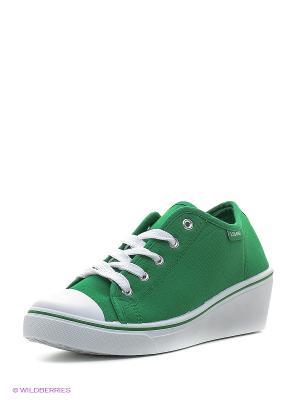 Кеды Libang. Цвет: зеленый