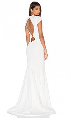 Вечернее платье josephine Katie May. Цвет: ivory