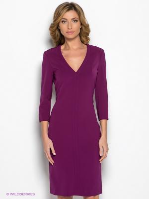 Платье COMPAGNIA ITALIANA. Цвет: фиолетовый