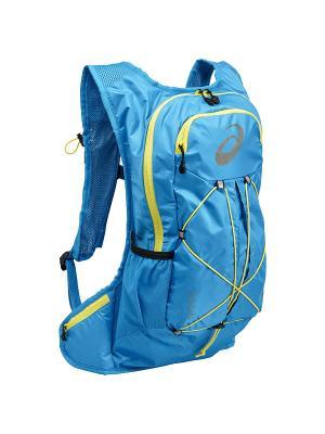 Рюкзак LIGHTWEIGHT RUNNING BACKPACK ASICS. Цвет: лазурный, светло-желтый