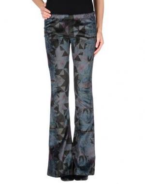 Повседневные брюки AMARANTO. Цвет: синий