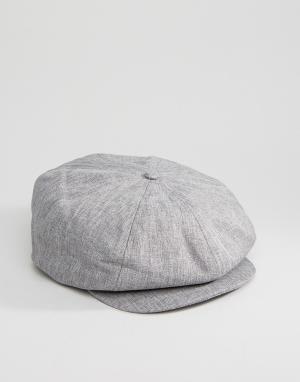 Dickies Плоская кепка Jacksonport. Цвет: серый