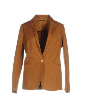 Пиджак TRUE TRADITION. Цвет: коричневый