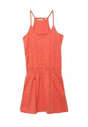Сарафан Emoi. Цвет: оранжевый