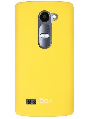 Клип-кейс для  LG Leon skinBOX. Цвет: желтый