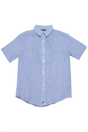 Рубашка La Miniatura. Цвет: голубой