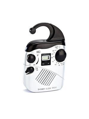 Радио для ванной комнаты ВОЛНА BRADEX. Цвет: серый
