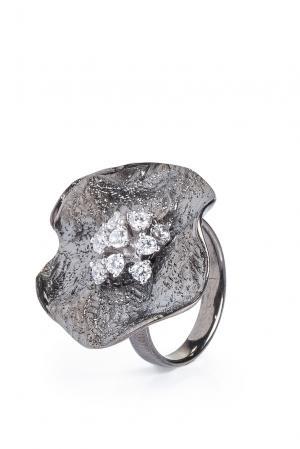Кольцо 170413 Magie Preziose. Цвет: серый