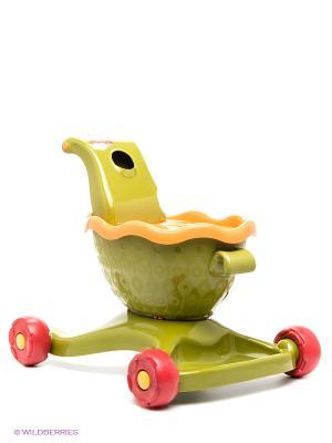 Каталка-ходунки с шариками Battat. Цвет: зеленый