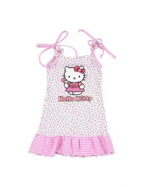 Платье HELLO KITTY. Цвет: белый
