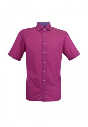 Рубашка Eterna. Цвет: фуксия