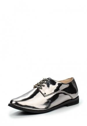 Ботинки Buffalo London. Цвет: серебряный