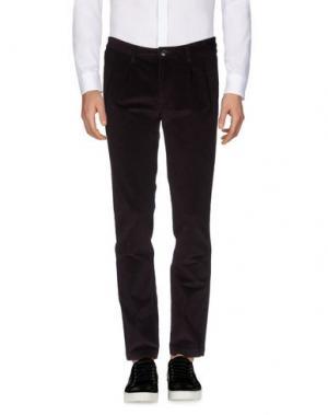 Повседневные брюки HARRY & SONS. Цвет: баклажанный