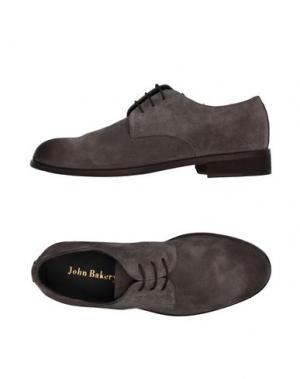 Обувь на шнурках JOHN BAKERY. Цвет: серый
