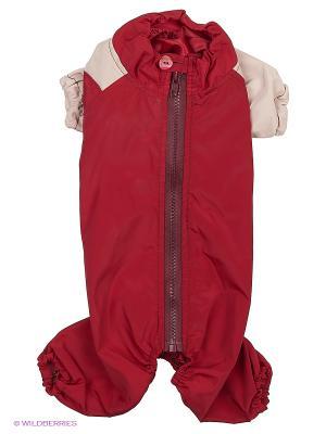 Комбинезон холодный на шелке (Мальтийская болонка) ТУЗИК. Цвет: красный