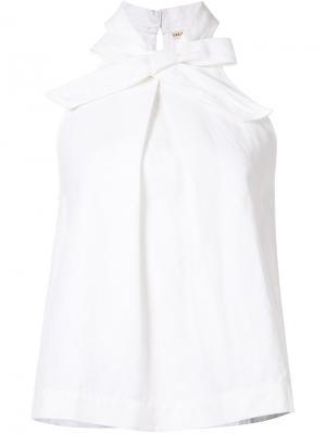 Блузка Mako Ulla Johnson. Цвет: белый