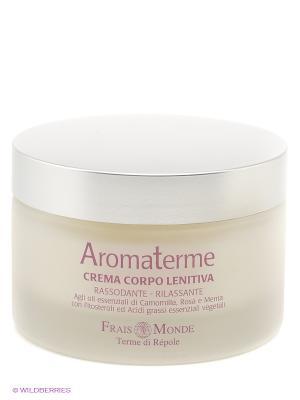 Крем для тела с оливковым маслом Frais Monde. Цвет: белый, серебристый