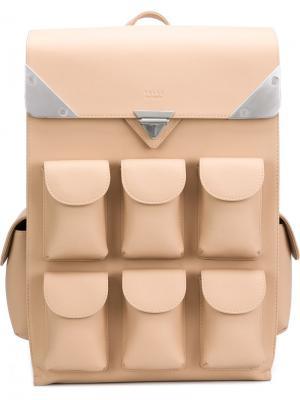 Рюкзак с несколькими отделениями Valas. Цвет: телесный