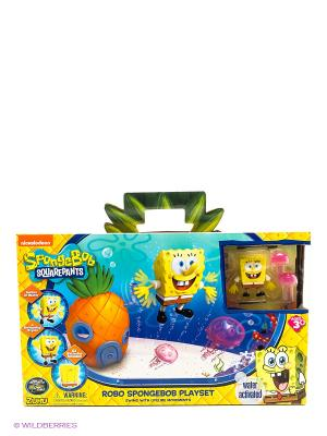Набор Спанч Боб с аквариумом и домиком. ZURU. Цвет: желтый, оранжевый