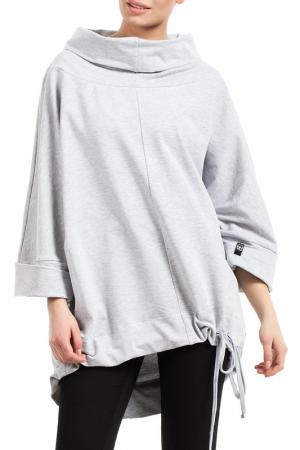 Sweatshirt BeWear. Цвет: light grey