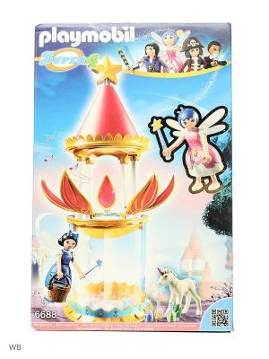 Супер4: Музыкальная Цветочная Башня с Твинкл Playmobil. Цвет: малиновый, белый