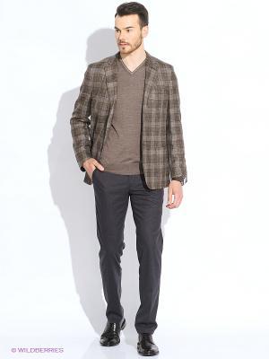 Пиджак Maurizio Baldassari. Цвет: синий, коричневый