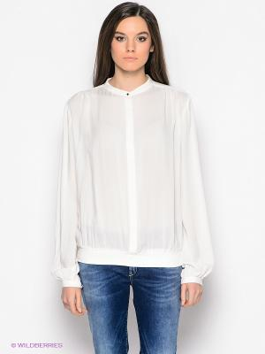 Блузка GAS. Цвет: белый