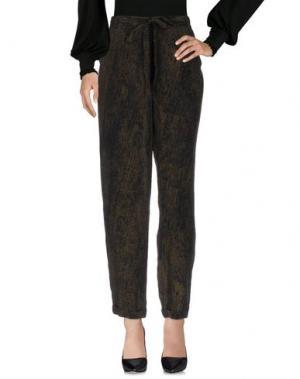 Повседневные брюки FARHI BY NICOLE. Цвет: зеленый-милитари