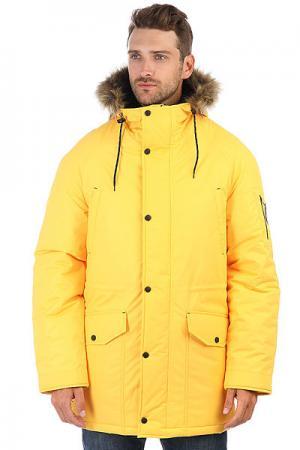 Куртка парка  Alaska Yellow Anteater. Цвет: желтый