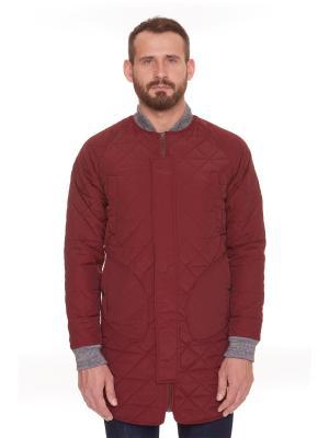 Куртка ЗАПОРОЖЕЦ Fufaika Long. Цвет: коричневый