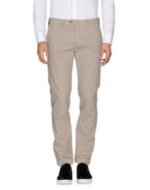 Повседневные брюки SEVENTY by SERGIO TEGON. Цвет: светло-серый