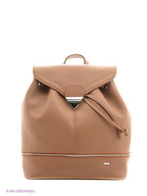 Рюкзак Esse. Цвет: коричневый