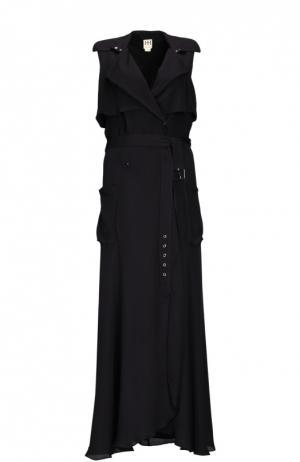 Платье Haute Hippie. Цвет: черный