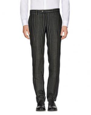 Повседневные брюки HARRY & SONS. Цвет: черный