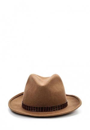 Шляпа Patrizia Pepe. Цвет: коричневый
