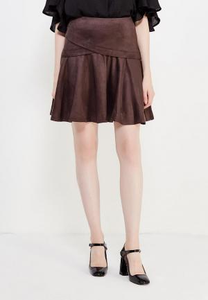 Юбка Vittoria Vicci. Цвет: коричневый
