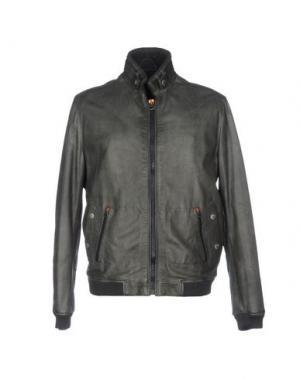 Куртка VIRTUS PALESTRE. Цвет: темно-зеленый