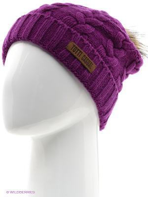 Шапка Totti. Цвет: фиолетовый