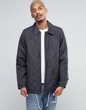 Adidas Originals Спортивная куртка AJ7261. Цвет: черный