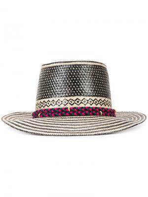 Шляпа Adina Yosuzi. Цвет: чёрный
