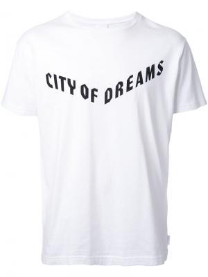 Футболка Delicatessen Cityshop. Цвет: белый